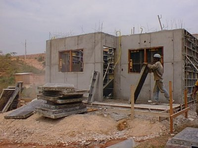 Low cost concrete house for Low cost home construction